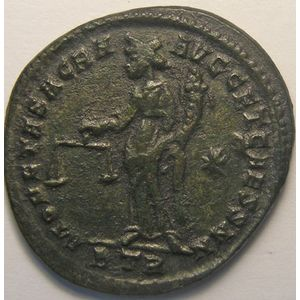 Photo numismatique Monnaies Empire Romain CONSTANCE I, CHLORE (293-306) Follis