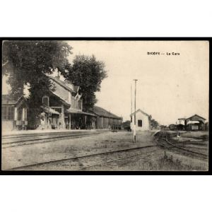 71 - DIGOUIN (Saône et Loire) - La Gare