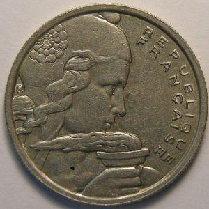 Photo numismatique Monnaies Françaises 100 Francs Gadoury 897. Cochet