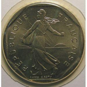 Photo numismatique Monnaies Françaises 2 Francs Gadoury 547. Semeuse