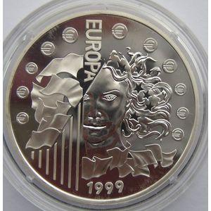 Photo numismatique Monnaies Françaises Monnaies commémoratives Gadoury C235. Europa, la monnaie parité