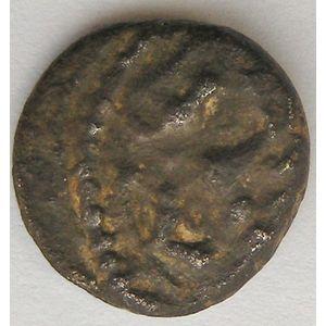 Photo numismatique Monnaies Gauloises Trévires Denier au personnage assis
