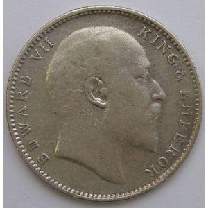 Photo numismatique Monnaies Etrangères Inde Britannique 1 Rupee