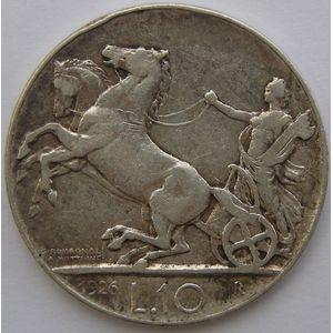 Photo numismatique Monnaies Etrangères Italie 10 Lire
