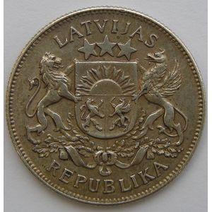 Photo numismatique Monnaies Etrangères Lettonie 2 Lati