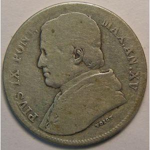 Photo numismatique Monnaies Etrangères Vatican 20 Baiocchi
