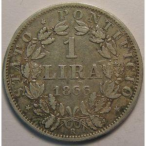 Photo numismatique Monnaies Etrangères Vatican 1 Lire