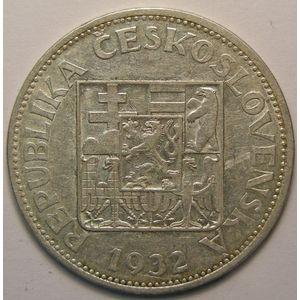 Photo numismatique Monnaies Etrangères Tchécoslovaquie 10 Korun