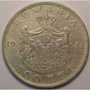 Photo numismatique Monnaies Etrangères Roumanie 500 Lei