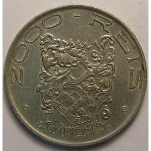 Photo numismatique Monnaies Etrangères Brésil 2000 Reis