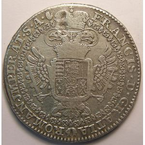 Photo numismatique Monnaies Etrangères Autriche Néerlandaise Kronenthaler