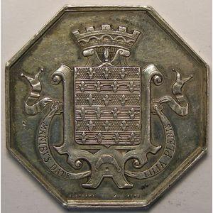 Photo numismatique Monnaies Jetons et médailles Jeton octogonal en argent Banque