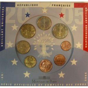 Photo numismatique Monnaies Euros France BU 2005
