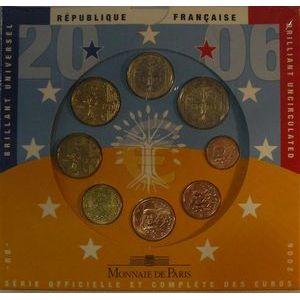 Photo numismatique Monnaies Euros France BU 2006