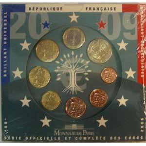 Photo numismatique Monnaies Euros France BU 2009