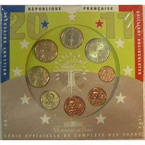 Photo numismatique Monnaies Euros France BU 2011