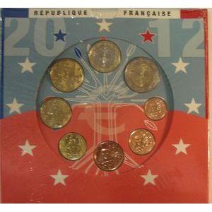 Photo numismatique Monnaies Euros France BU 2012