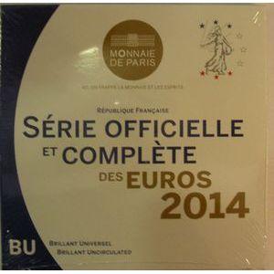 Photo numismatique Monnaies Euros France BU 2014