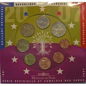Photo numismatique Monnaies Euros France BU 2007