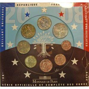 Photo numismatique Monnaies Euros France BU 2008