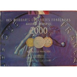 Photo numismatique Monnaies Françaises Coffrets FDC, BU, BE Brillant Universel