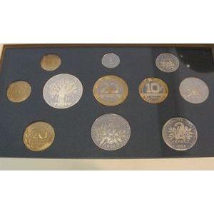 Photo numismatique Monnaies Françaises Coffrets FDC, BU, BE Belle Epreuve