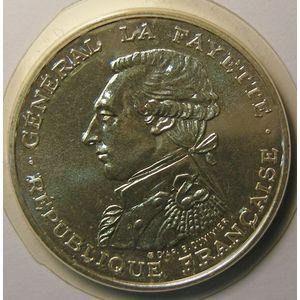 Photo numismatique Billets Françaises 100 Francs Gadoury 902. La Fayette