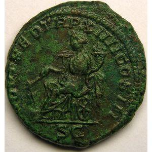 Photo numismatique Monnaies Empire Romain CARACALLA (196-217) As