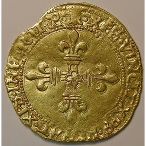 Photo numismatique Monnaies Royales Françaises FRANCOIS Ier (1515-1547) Ecu d'or du Dauphiné