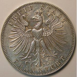 Photo numismatique Monnaies Etrangères Allemagne Frankfurt