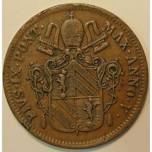 Photo numismatique Monnaies Etrangères Vatican 1 Baiocco