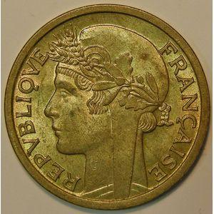 Photo numismatique Monnaies Etrangères Afrique Occidentale Française 1 Franc