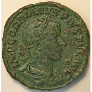 Photo numismatique Monnaies Empire Romain GORDIEN III (238-244) Sesterce