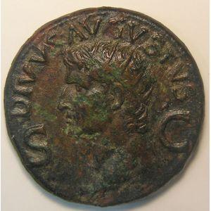 Photo numismatique Monnaies Empire Romain AUGUSTE (27 Av JC- 14 Ap JC) Dupondius