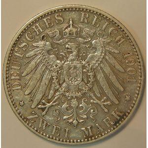 Photo numismatique Monnaies Etrangères Allemagne Preussen