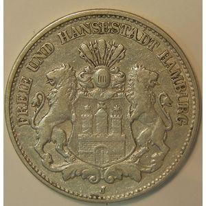 Photo numismatique Monnaies Etrangères Allemagne Hamburg