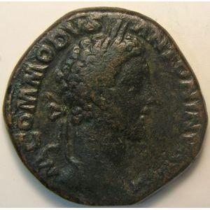 Photo numismatique Monnaies Empire Romain COMMODE (177-192) Sesterce