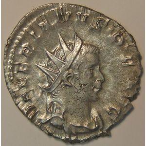 Photo numismatique Monnaies Empire Romain VALERIEN Ier (253-260) Antoninien