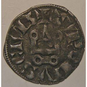 Photo numismatique Monnaies Royales Françaises PHILIPPE IV dit Philippe le Bel (1285-1314) Denier tournois à l'O rond