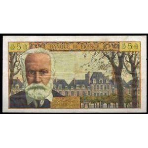 Photo numismatique Billets Billets France 5 NF Victor Hugo