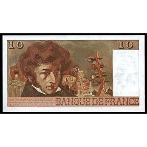 Photo numismatique Billets Billets France 10 Francs Berlioz