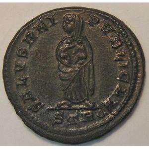 Photo numismatique Monnaies Empire Romain FAUSTE (2ème Femme de Constantin I) Nummus