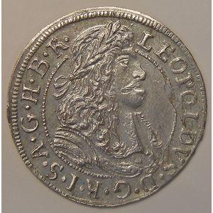 Photo numismatique Monnaies Etrangères Autriche 3 Kreuzer