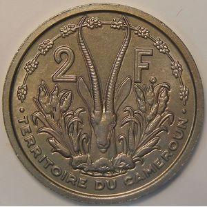 Photo numismatique Monnaies Etrangères Cameroun Essais