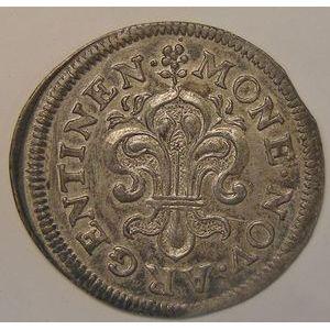Photo numismatique Monnaies Royales Françaises LOUIS XIV (1643-1715) II Sols de Strasbourg