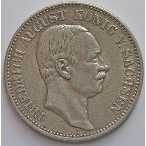 Photo numismatique Monnaies Etrangères Allemagne Sachsen