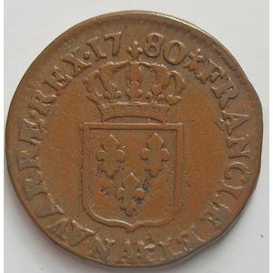 Photo numismatique Monnaies Royales Françaises LOUIS XVI (1774-1792) Sol à l'Ecu
