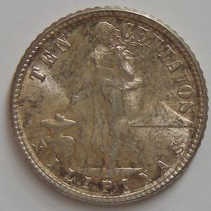 Photo numismatique Monnaies Etrangères Philippines 10 Centavos