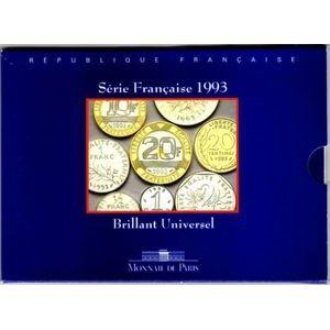 Photo numismatique Monnaies Françaises Coffrets FDC, BU, BE Brillant Universel