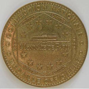 Photo numismatique Monnaies Jetons et médailles Jetons Touristiques de la Monnaie de Paris Monaco